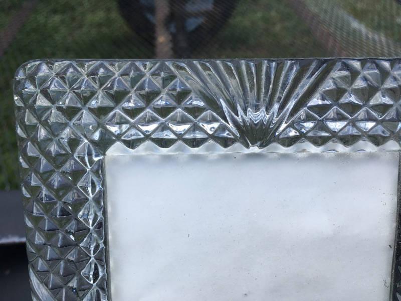 4 x 6 vidrio cristal claro marco pesado deber vidrio escritorio ...