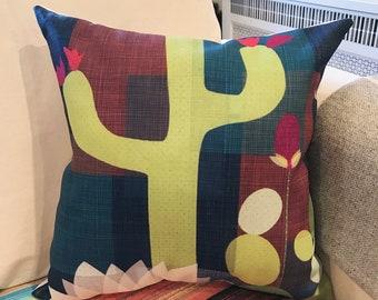 """18x18 decorative pillow """"The Desert"""""""