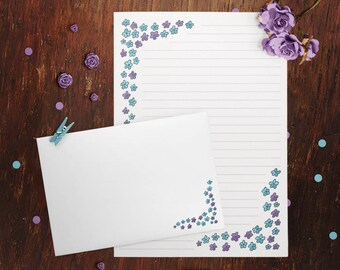 Little Flowers Letter Writing Set