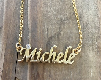 Michele Necklace in Gold or Silver