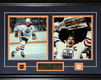 Wayne Gretzky Edmonton Oilers NHL hockey 2 Photo frame