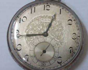 1926 Elgin pocket watch, size 12, #28,936,018