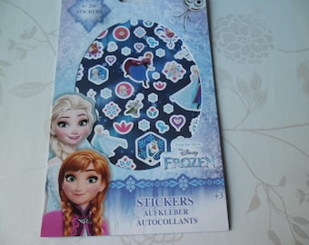 x 1 booklet of 4 sheets of approximately 250 mixed stickers stickers Queen snow
