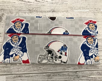 NFL patriots coupon organizer, money holder, pencil pouch