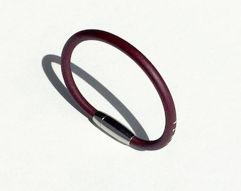 Prawn leather Ring bracelet for woman