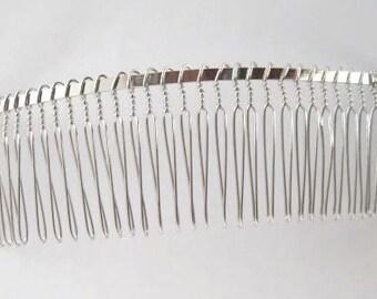 Metal veil  comb 30 teeth