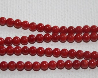Shell - Coral Round 3mm