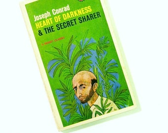 Vintage Joseph Conrad Paperback / Illustrated Cover / Collectible Novel / Vintage Classic Literature