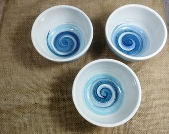Ceramic bowl set, set of 3 bowls, ceramic bowl, pottery bowl set, modern bowl set, serving bowl, dinnerware bowl set, dinnerware bowls
