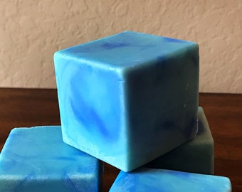 Blueberry Hill - Handcrafted Soap Cube made with Organic Shea Butter | Blueberry Jam scented | Luxurious Lovely| Bath Beauty |handmade soaps