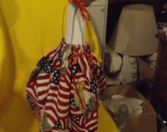 Flag and Eagle Goose Clothes