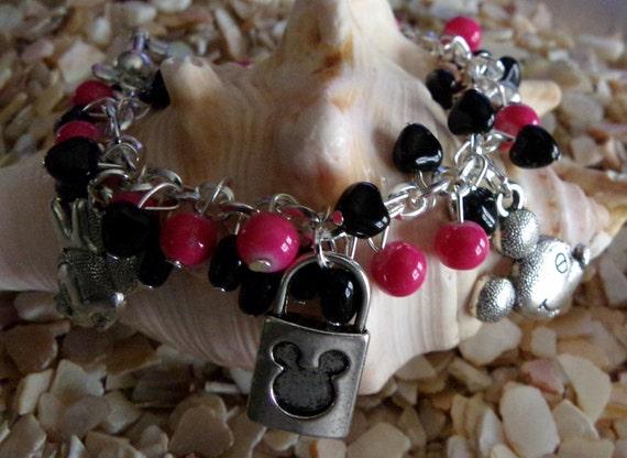 Mickey & Minnie Bracelet
