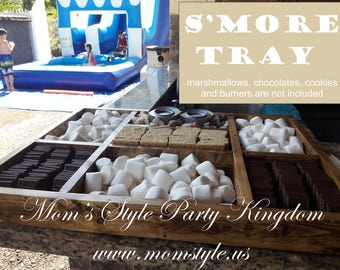 S'mores Tray party Bar - small