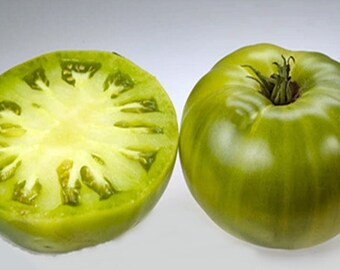 Heirloom Garden Seed Green Giant Heirloom Tomato  Non-GMO Naturally Grown Open Pollinated 30+ seeds Gardening