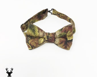 Boys Camo Bow Tie, Toddler Camo Bow Tie, Mens Camo Bow Tie, Ring Bearer Outfit, Newborn Photo Prop, Boys Bowtie Wedding Bow Tie camouflage