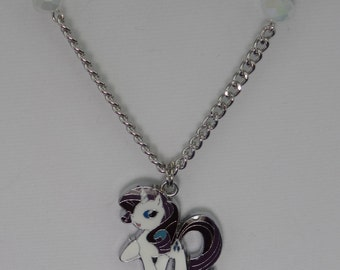 My Little Pony Rarity Necklace (Silver)