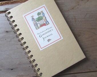 Gardener's Journal Crabtree and Evelyn 1980s Blank Journal Unused