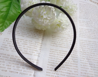 SALE--30 pcs Plastic Headband With Black Cloth Covered 10mm Wide