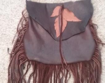 Custom Leather Shoulder Bag