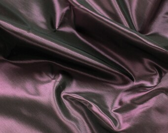 Black Fuschia 60'' Iridescent Two Tone Taffeta Acetate Taffeta Fabric by the Yard - Style 3051