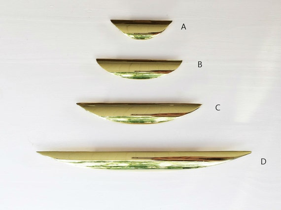 luna cabinet knob brass drawer pull cabinet pull polished