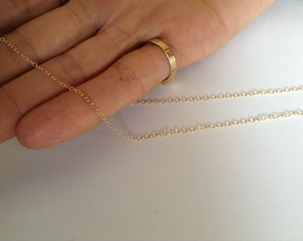 1 Foot Gold filled / Silver Chain, Chain supplies, fine chains, supplies Findings, Goldie Supplies
