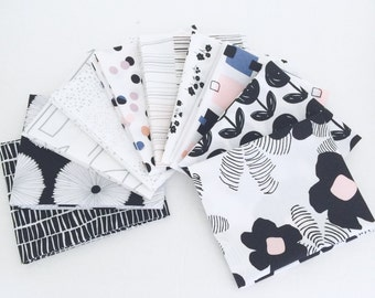 SALE!! Fat Quarter Bundle Lagom by AGF Studio- 10 Fabrics