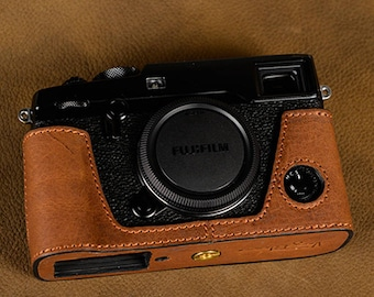 Fujifilm fuji X pro 2 Xpro2 Handmade Half Case Cowhide leather insert Camera bag Protector Holster sleeve limited stock Made TO Order