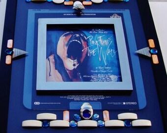 "PINK FLOYD ""The Wall"" Framed Capacitance Electronic Disc, Rare Investment Piece, 3D Wall Art, 1982 Rock Opera, Progressive Rock, Music Art"