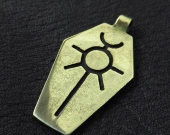 Bronzeanhänger Necron