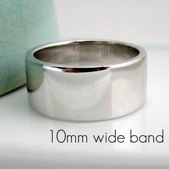 9mm wide wedding bands
