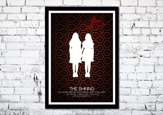 The Shining // Stanley Kubrick // Minimalist Movie Poster // Unique Art Print