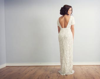 Wedding dress/ Bridal Gown/ Hand Made- Amelia Dress