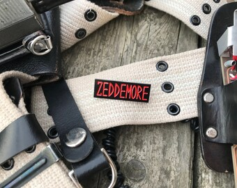Winston Zeddemore - Ghostbusters Name Tape Enamel Pin