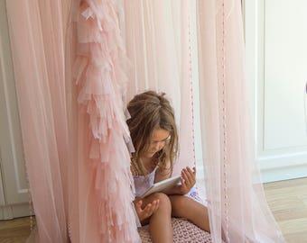 Custom Baldachin -  Play Canopy, Crib Canopy, Kids canopy, Nursery canopy, Bed canopy, Play room canopy, Hanging Canopy, Photo prop