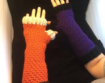 FIngerless long shaped gloves