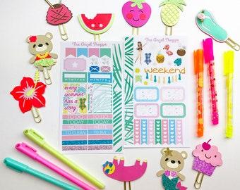 HAWAII 2 Sheet Mini Sticker Kit