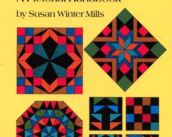 849 Traditional Patchwork Patterns: A Pictorial Handbook by Susan Winter Mills (quilting) | Dover Books | Craft Book | Reference
