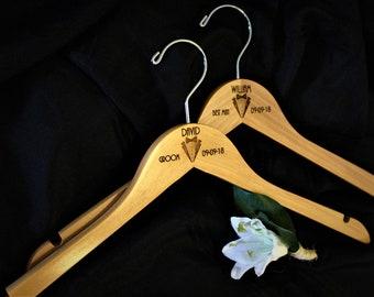 Groomsmen Hangers, Personalized Hangers, Best Man Hanger, Wedding Day, Wedding Photo Prop, Custom Engraved Hangers, Suit Up Set of FIVE