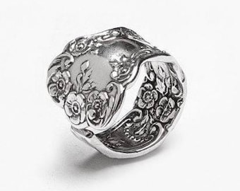 "Spoon Ring: ""Lady Helen"" by Silver Spoon Jewelry"