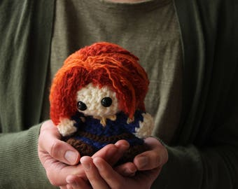 Merida Brave Crochet Doll