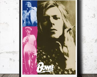 DAVID BOWIE A3 Art Print Poster