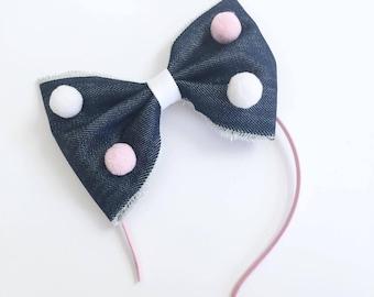 Hair accessories - Headband - Bow - Bow headband - Girls hair accessories