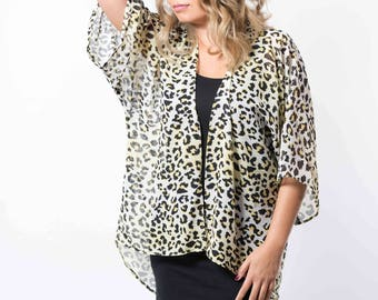 NEW!!! BWY Leopard Print Kimono