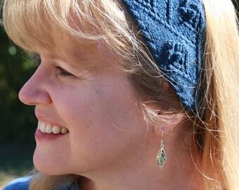 Nancy's Garden Headband Knit Pattern PDF