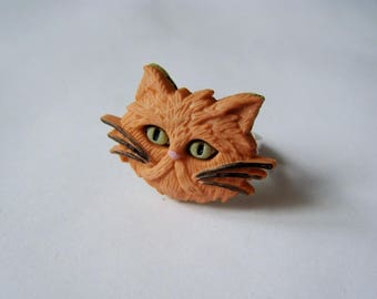 Cat ring - Red