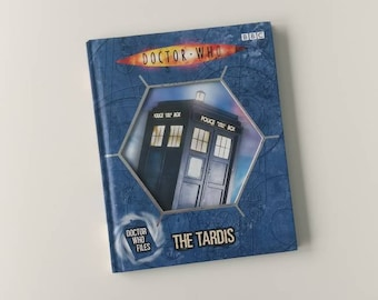 Doctor Who The Tardis Notebook - Handmade Notebook from a well loved book