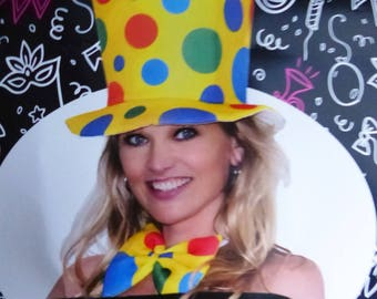 costume hat and bow tie party for adults