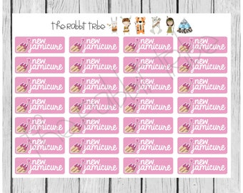 Get Organised! Jamicure, Jamberry Nails - planner stickers