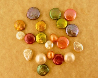 10 Hand selected Pair of Freshwater Pearls for jewelry making